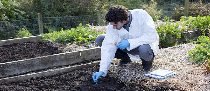 آزمایش های خاک شناسی و مصرف کود سولفات منیزیم