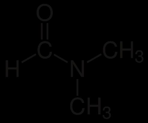 ساختار دی متیل فرمامید
