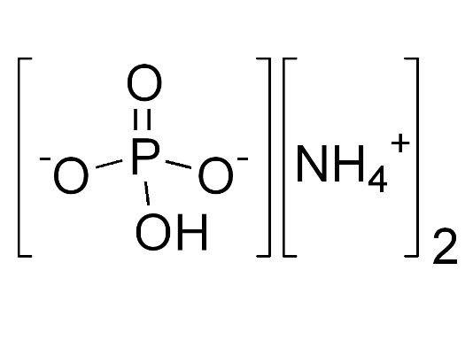ساختار شیمیایی دی آمونیوم فسفات 1