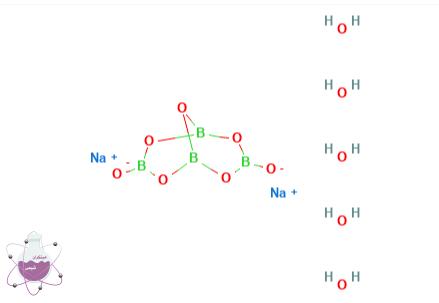 ساختار مولکولی بوراکس پنتا