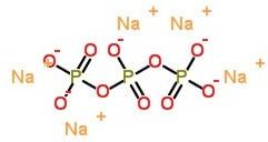 ساختار پلیمری سدیم تری پلی فسفات
