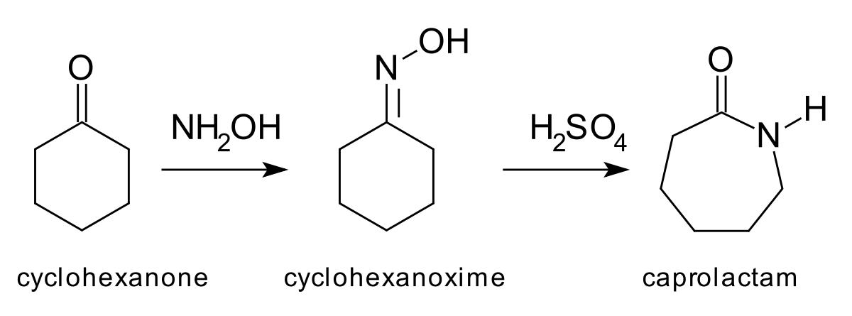 فرایند تولید سیکلوهگزانون اکسیم