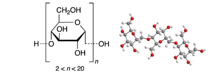 ساختار مولکولی مالتودکسترین