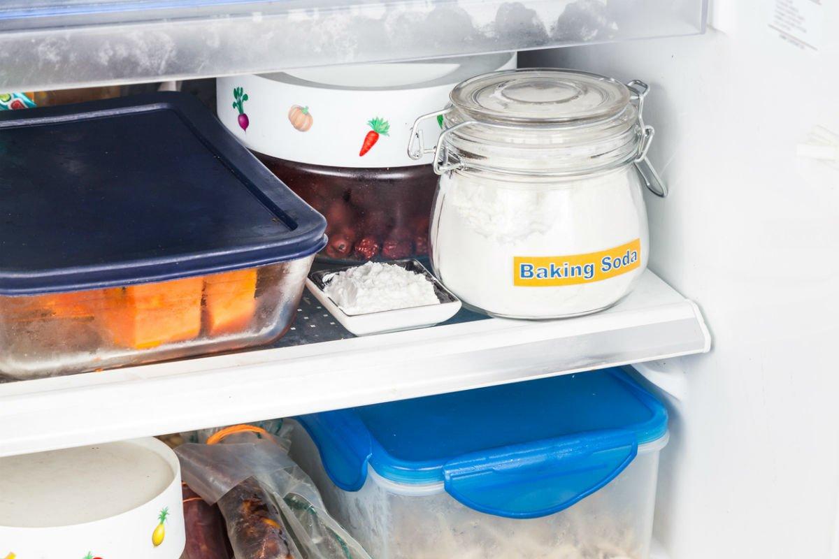 کاربرد بی کربنات سدیم در رفع بوی بد یخچال
