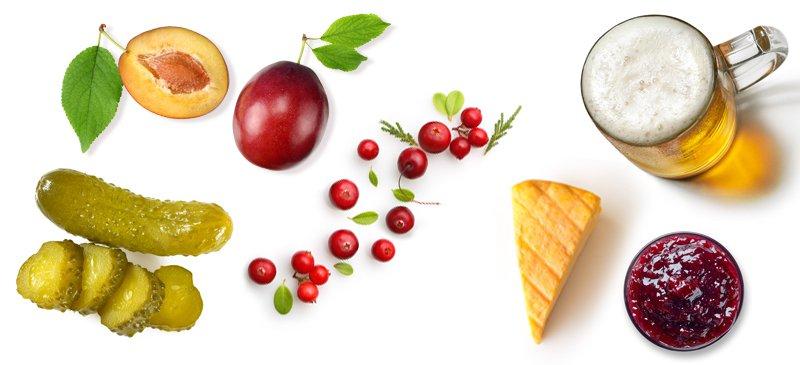 اسید بنزوئیک در غذا