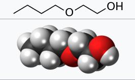 ساختار شیمیایی بوتیل گلیکول