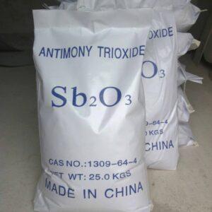 تری اکسید آنتیموان Antimony Trioxide