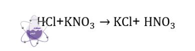 واکنش تولید پتاسیم کلرید