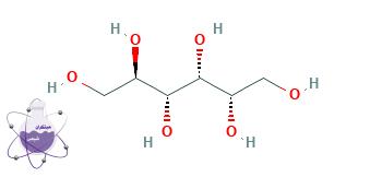 ساختار مولکولی سوربیتول