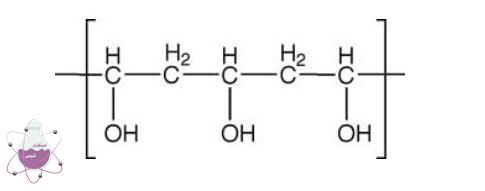 ساختار مولکولی پلی وینیل الکل