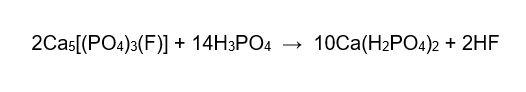 فرایند تولید سوپرفسفات سه تایی