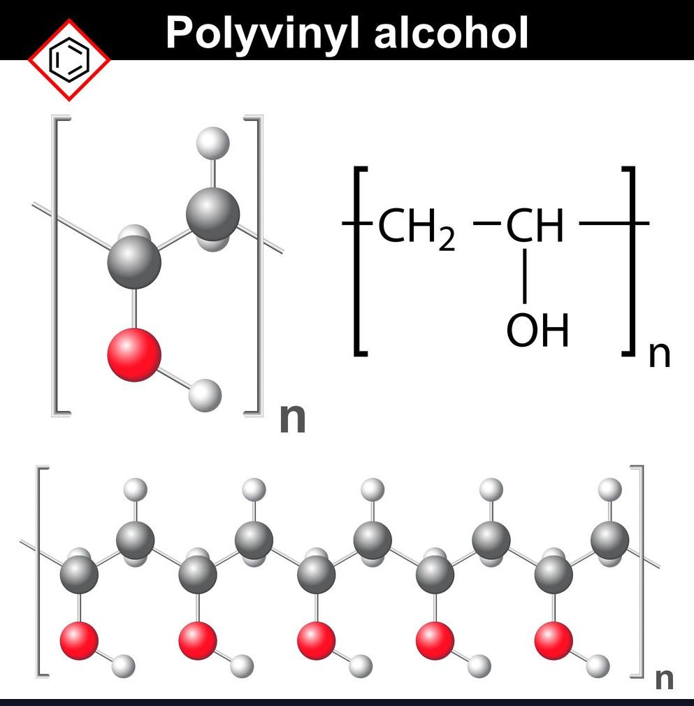 ساختار پلی وینیل الکل