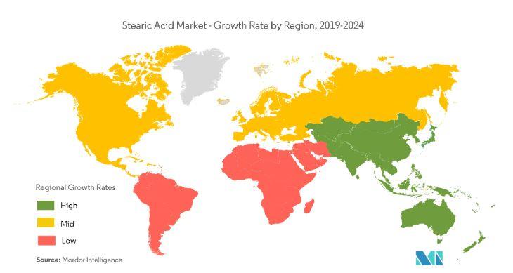 بازار جهانی اسید استئاریک