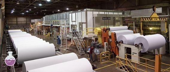 کاربرد سود مایع در صنعت کاغذ سازی مبتکران شیمی