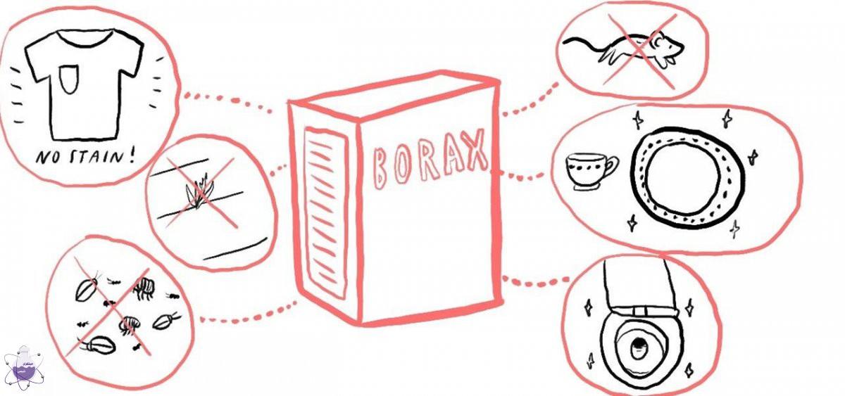 کاربرد بوراکس