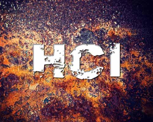HCl بازدارنده خوردگی