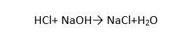 واکنش اسید و باز قوی