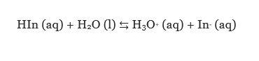 واکنش شیمیایی HIn