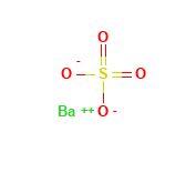 ساختار مولکولی باریت