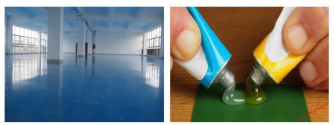 نمونه ای از کاربرد رزین های اپوکسی در رنگ ها و پوشش ها و چسب ها