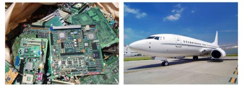 نمونه ای از کاربرد رزین های اپوکسی در صنعت هوا فضا و کالاهای الکترونیکی