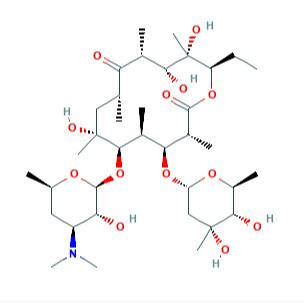 اریترومایسین گرید C