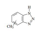 شکل ظاهری و ساختار مولکولی تولیل تری ازول