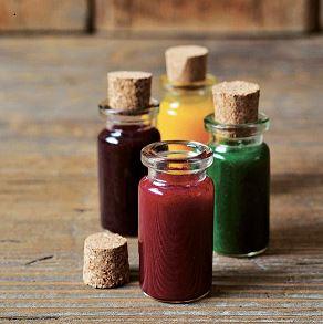 رنگ های خوراکی طبیعی و مصنوعی