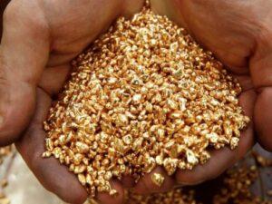 استخراج طلا از سنگ