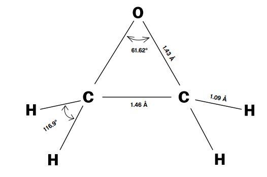 ساختار اتیلن اکساید