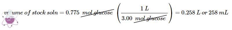 محاسبه ی حجم در محلول سازی