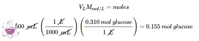 محاسبات تعداد مول