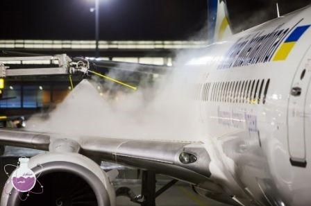 کاربرد ضد یخ در هواپیما ها