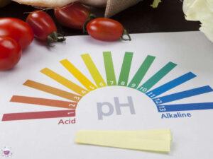 اثر pH در مواد غذایی