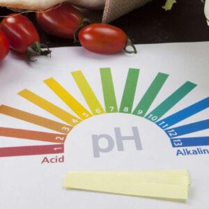 اثر pH و اسیدیته در مواد غذایی