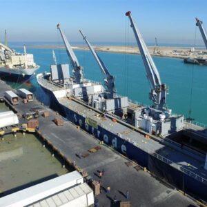 ورود کشتی حامل 20 هزار تن کود فسفات به بندر بوشهر