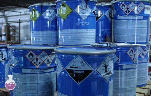بسته بنید درست مواد شیمیایی