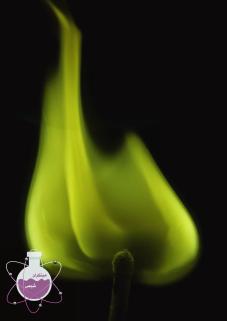 رنگ شعله باریم، منگنز و مولبیدیوم