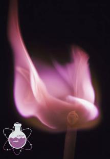 رنگ شعله لیتیم و روبیدیوم