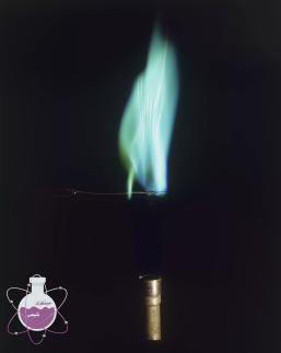 رنگ شعله ی مس یک ظرفیتی