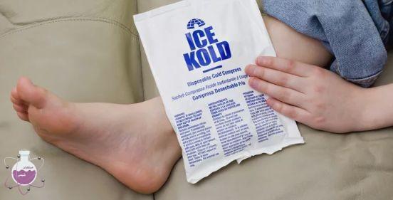 کاربرد یخ داغ