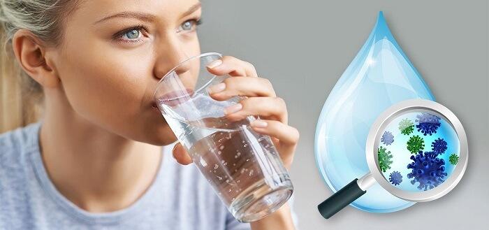 اثر گندزدایی ایزوتیازولین در آب