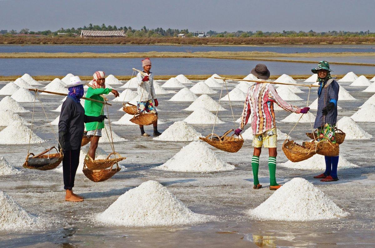 تفاوت نمک دریا و نمک اپسوم