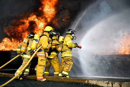آتش سوزی تری اتیلن گلایکول