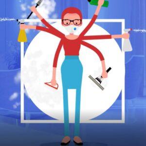 ترکیب کدام مواد شوینده خطرناک است ؟