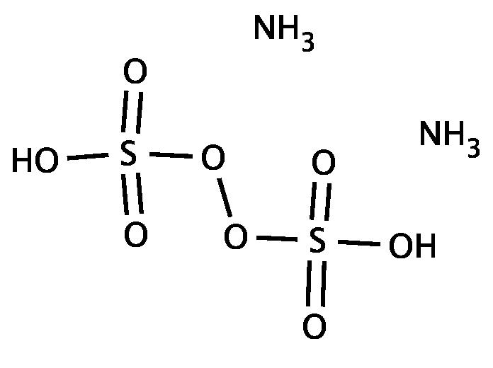 ساختار آمونیوم پر سولفات
